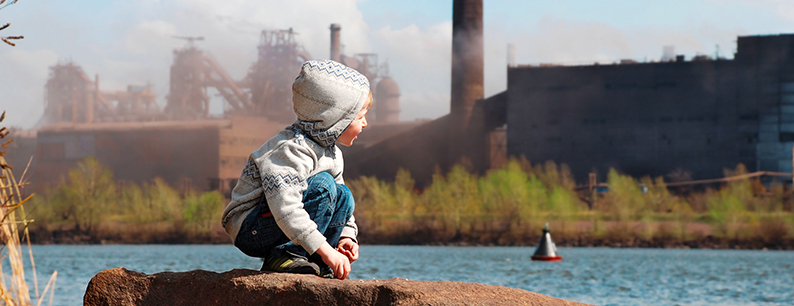 Inquinamento acque da plastica