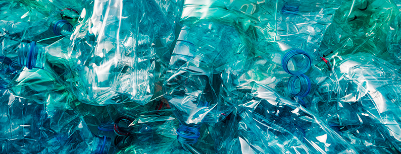 Inquinamento dell'acqua da plastica