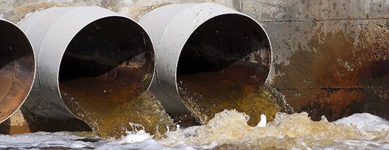 Inquinamento dell'acqua da parte delle industrie