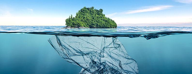 L'isola di plastica nell'oceano Pacifico