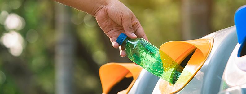 come ridurre l'inquinamento dei tipi di plastica