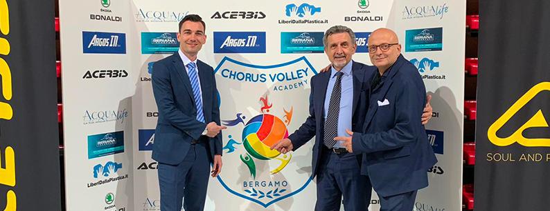 Liberi Dalla Plastica Chorus Volley Bergamo