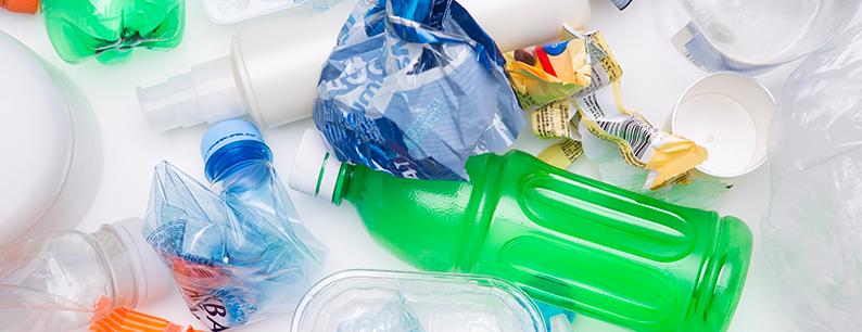 Tipi di plastica riciclo della plastica