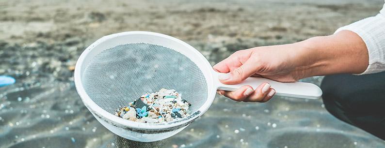 Inquinamento da plastica microplastiche