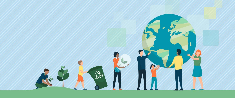 Mondo libero dalla plastica