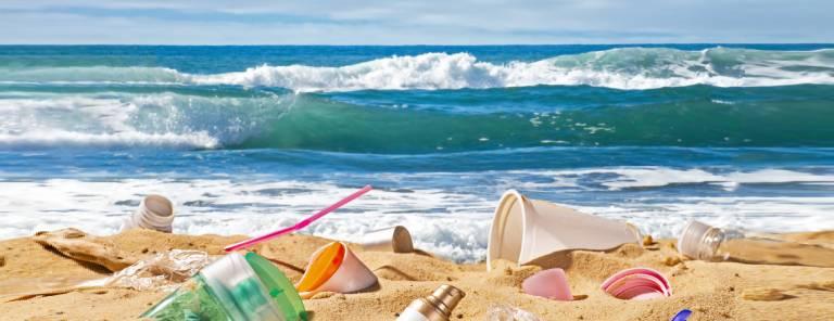 Le spiagge sono piene di rifiuti