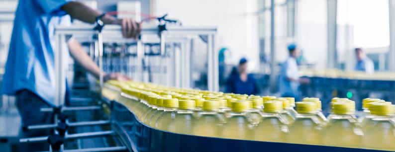 Linea di produzione di plastica e bottiglie in PET
