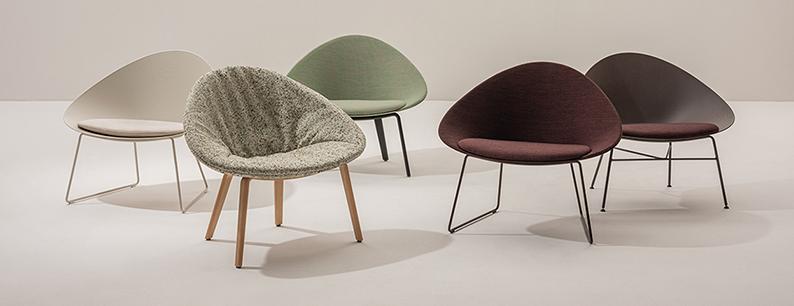 Sedie di Design dalla plastica Riciclata