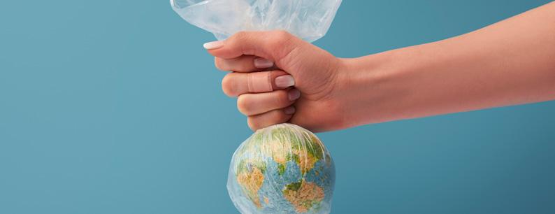 Un mondo pieno di plastica